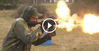 830 Rounds Full-Auto AR-15 Meltdown!