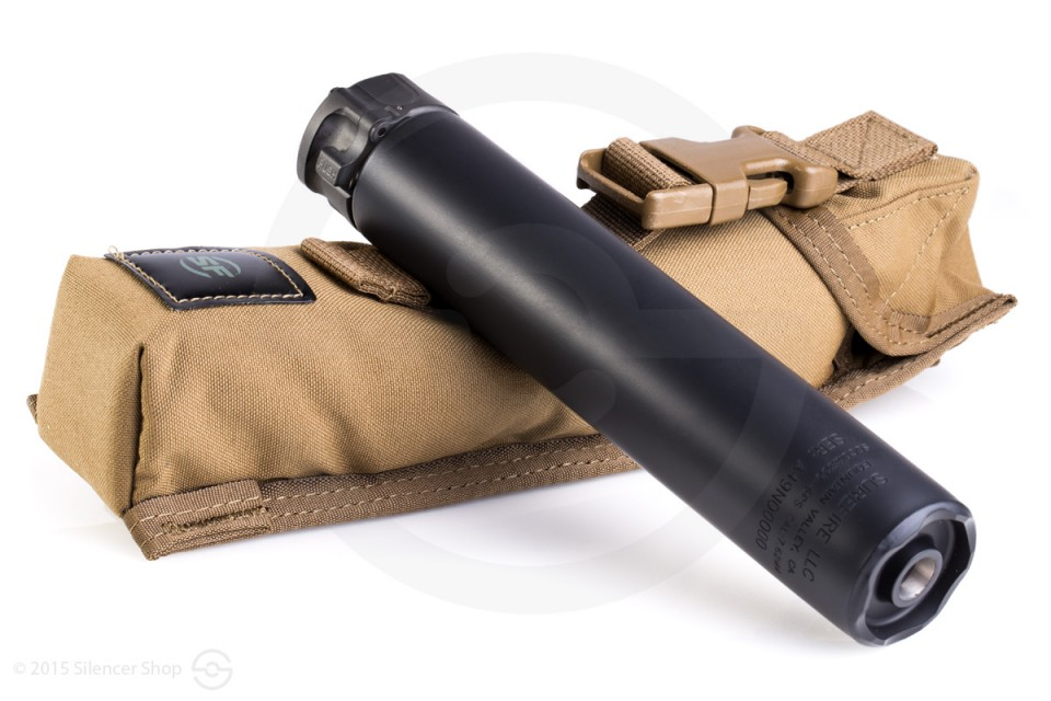 The SOCOM 300 SPS by SureFire is a quiet suppressor perfect for .308 and .300 blackout rounds.