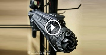 Insane NEW baffle-free suppressor is as badass as it looks