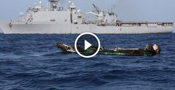 Somali pirates mistakenly attack US Navy vessel, they DON'T live to regret it