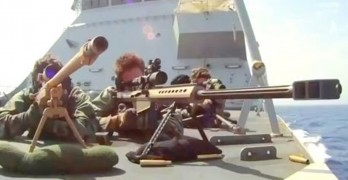 Two Navy snipers take on 38 Somali pirates