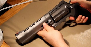 Video shows the only revolver to make the Judge look like a cap gun