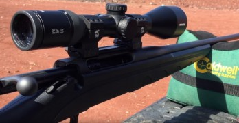 How to sight in your rifle with only one round