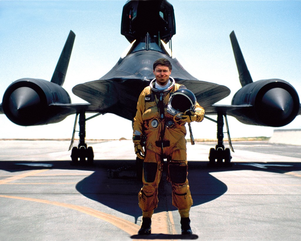 SR-71 Blackbird pilot Brian Shul (image source; Global Aviation Resource)