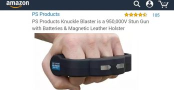 Man buys 950,000V stun gun knuckles, leaves the greatest review of all time