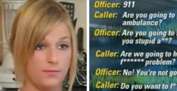 Teen arrested for cursing on 911 call, operator refuses to send ambulance for her dying father