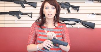 Female shooter shares trick for women or anyone with poor grip strength racking the slide