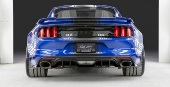 Shelby unveils all new 750 HP wide-body 2017 Super Snake Mustang