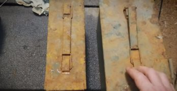 Look inside four ammo cans dug up after one year at the bottom of a muddy pond