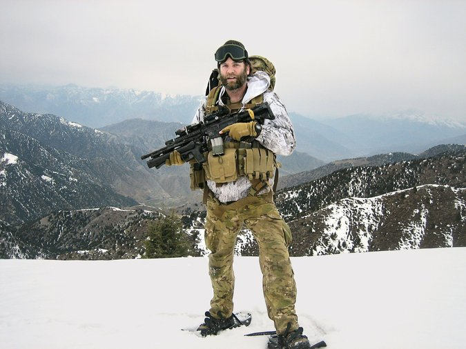 Jason Everman serving with the US Army Special Forces in Afghanistan