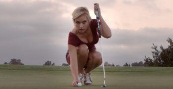 "Female golfer's perfect response to LPGA's ""cleavage elimination program"""