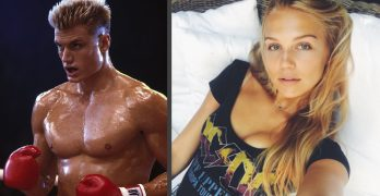 Dolph Lundgren's daughter is an absolute knock-out