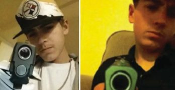 Teen thief caught and arrested after posting selfies with stolen guns