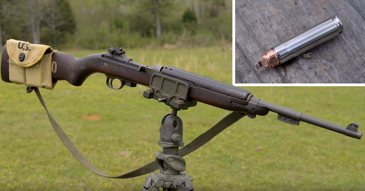 Underwood 30 Xtreme Cavitator Fired From The M1 Carbine