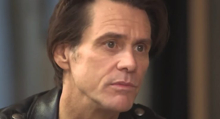 "In his own words, ""Jim Carrey is completely gone"""