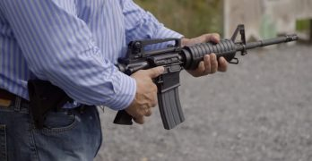 ATF analyst who determined bump-stocks were legal shows effective bump-fire without an accessories
