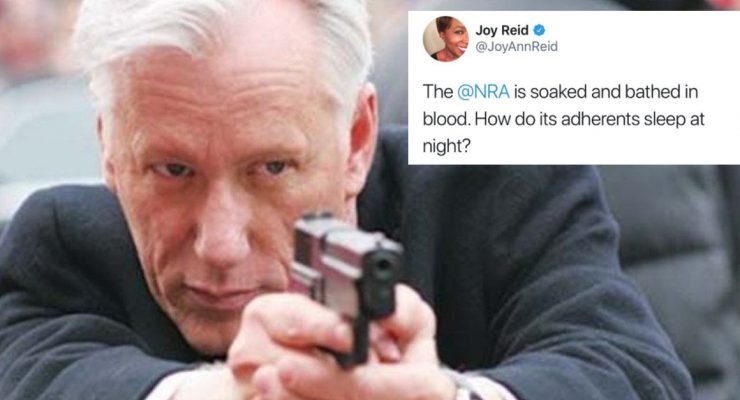 "Pro-2A actor James Woods humiliates journalist who asks ""how can gun owners sleep at night"""