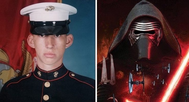 Kylo Ren actor discusses his journey from the Marine Corps to the silver screen