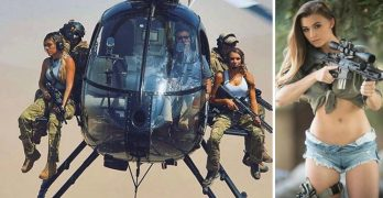 The country's hottest veterans share their love of guns, buns, and the American way