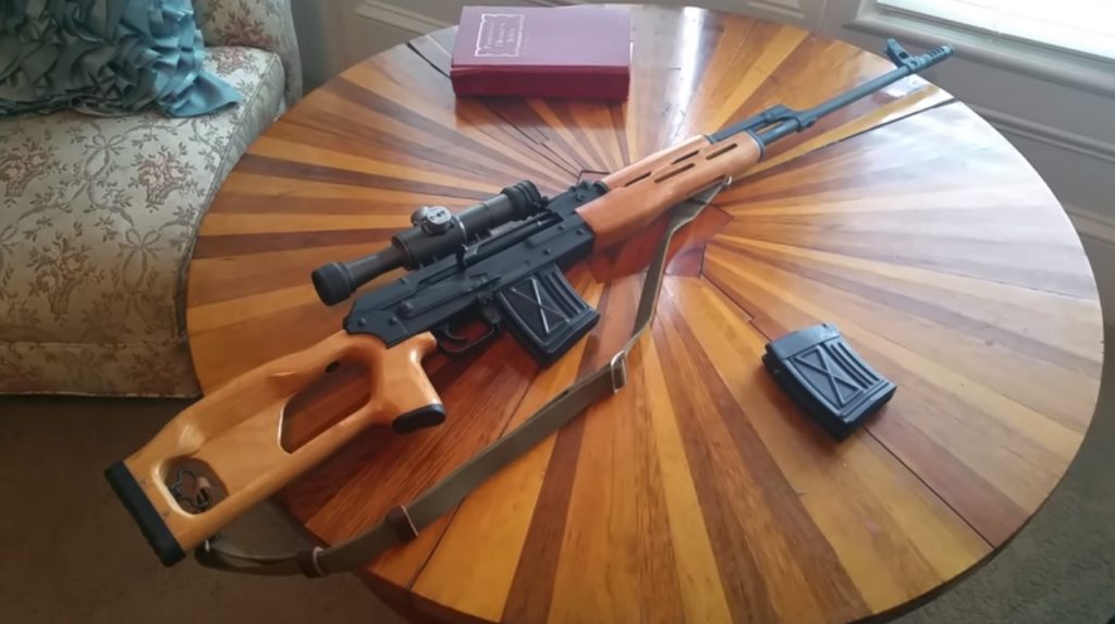 The Russian Dragunov is one of the best rifles ever made.