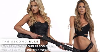 Learning the four rules of gun safety has never been so stimulating