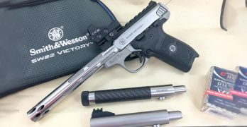 S&W 22 Victory: An absolute blast with the right ammuntion