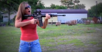 She Turned An Old Dummy Into A Reactive Target With Just A Few Pounds Of Tannerite